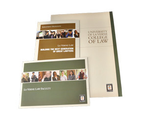 La Verne Law Brochures